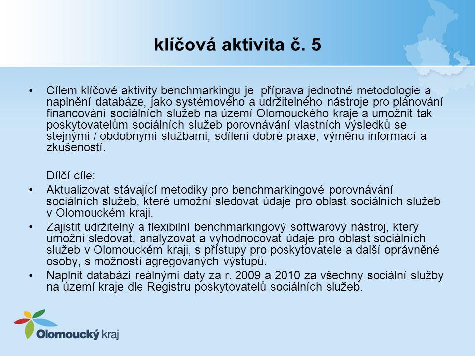 klíčová aktivita č. 5