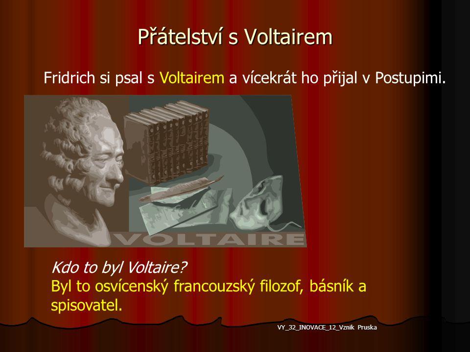 Přátelství s Voltairem