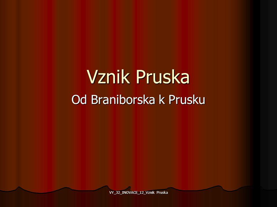 Od Braniborska k Prusku