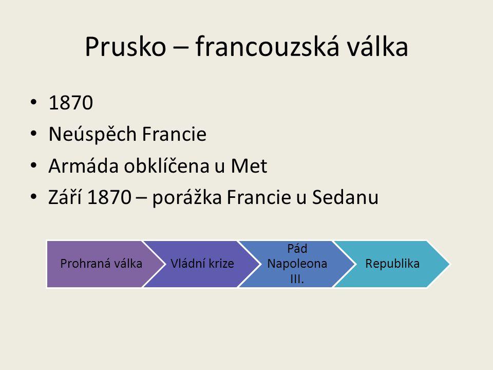 Prusko – francouzská válka