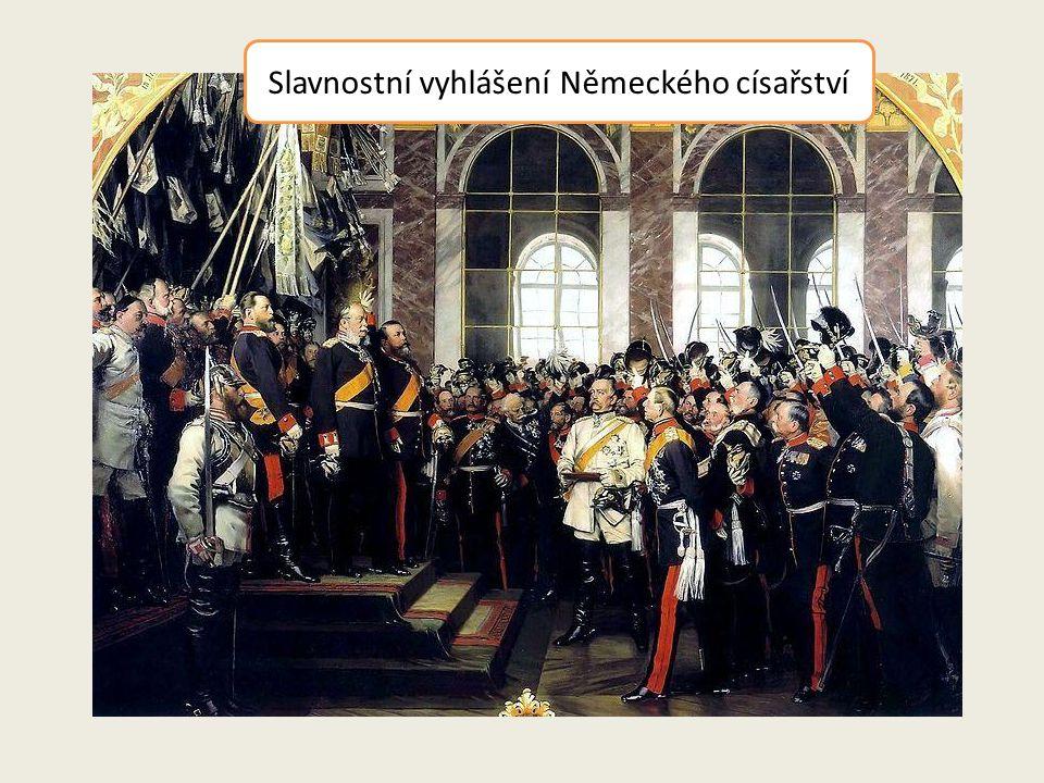 Slavnostní vyhlášení Německého císařství