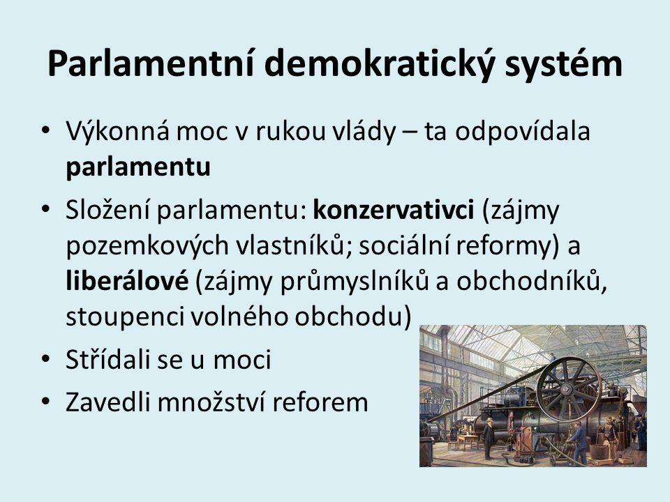 Parlamentní demokratický systém
