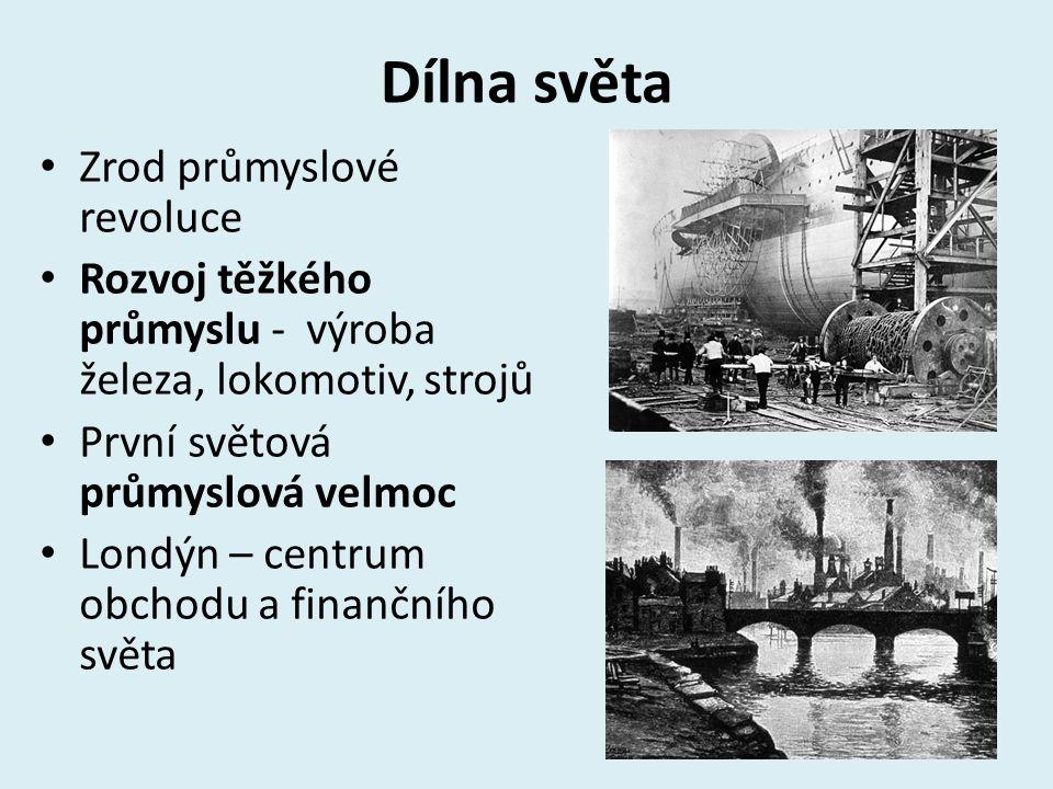 Dílna světa Zrod průmyslové revoluce