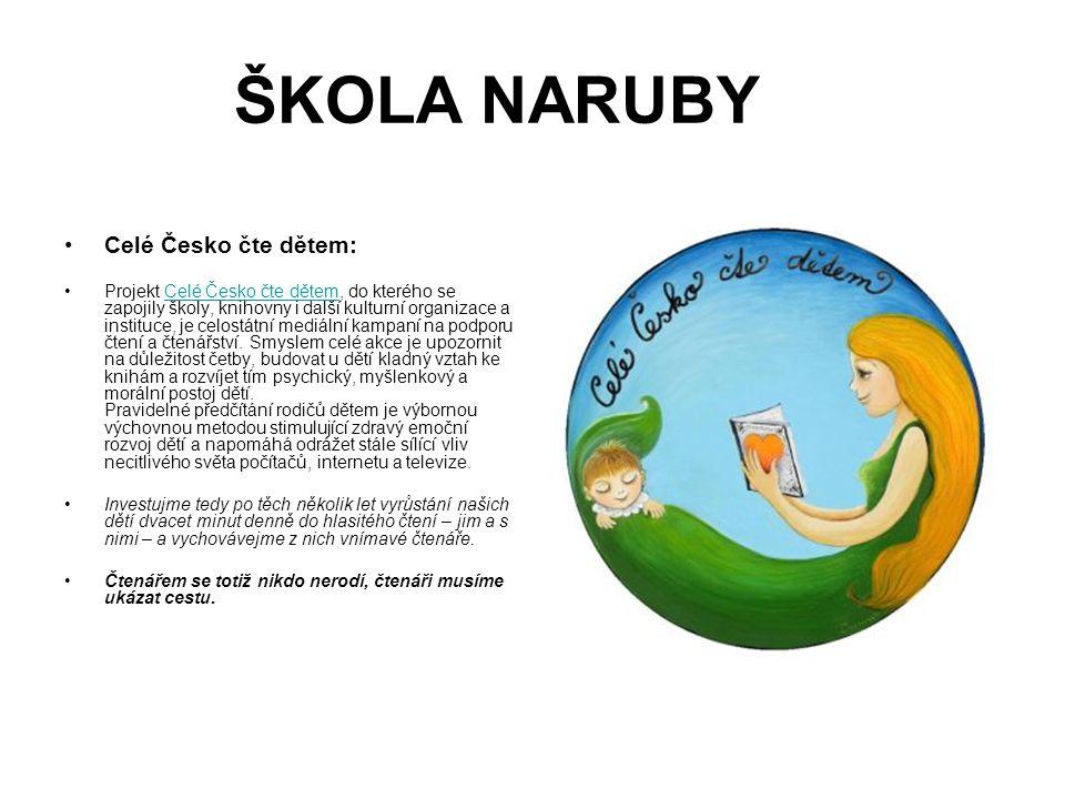ŠKOLA NARUBY Celé Česko čte dětem: