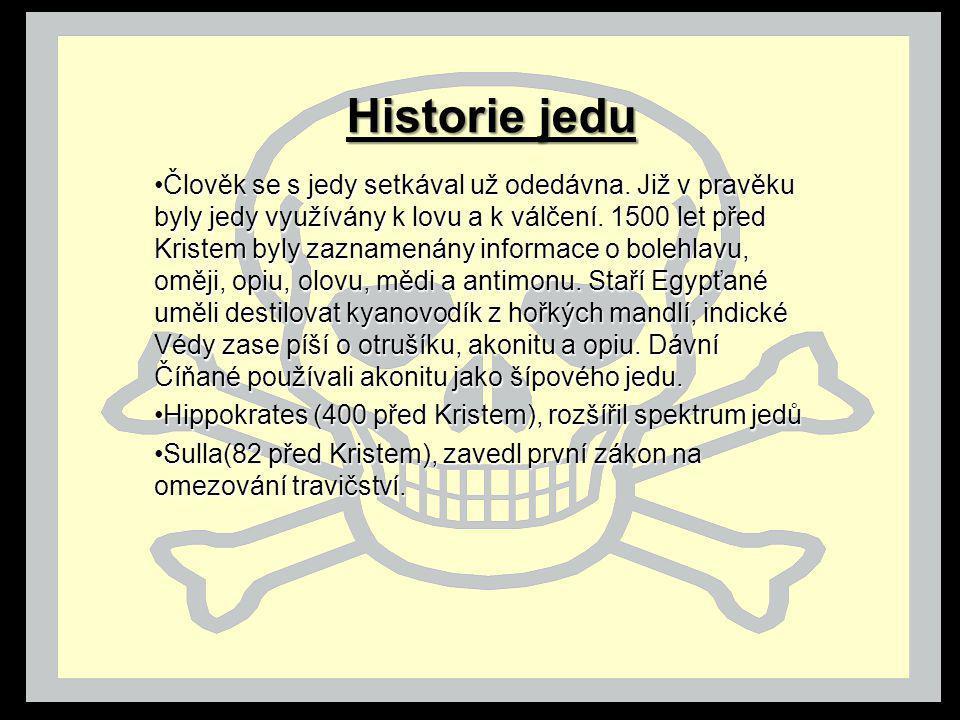 Historie jedu