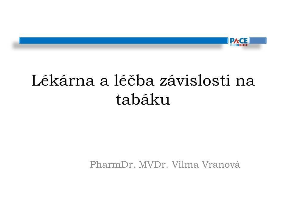 Lékárna a léčba závislosti na tabáku