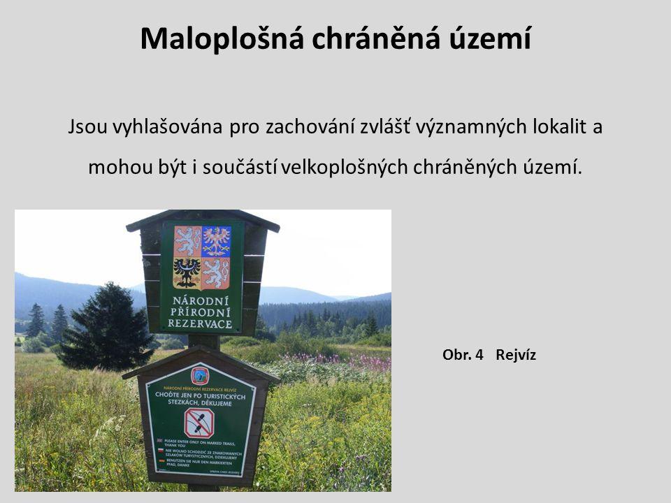 Maloplošná chráněná území