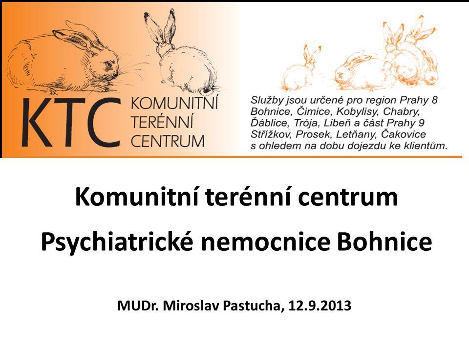 Komunitní terénní centrum Psychiatrické nemocnice Bohnice