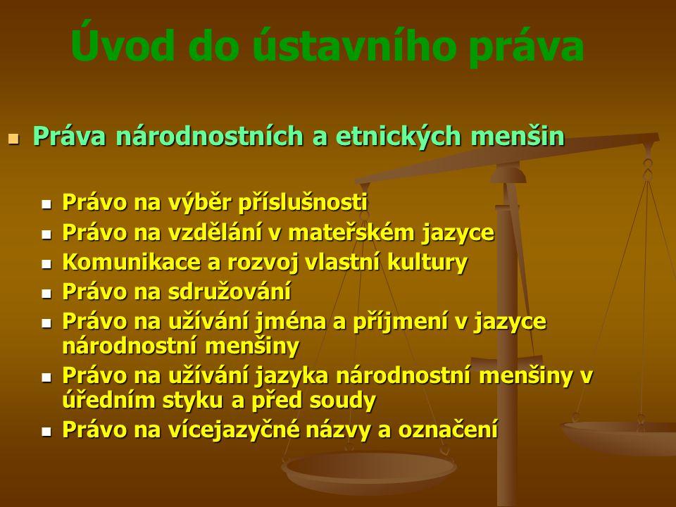 Práva národnostních a etnických menšin