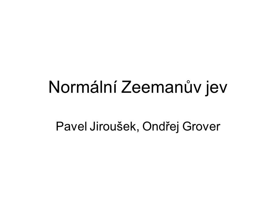 Pavel Jiroušek, Ondřej Grover