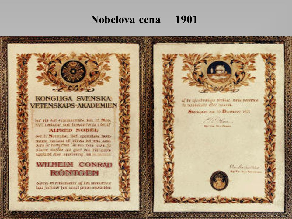Nobelova cena 1901