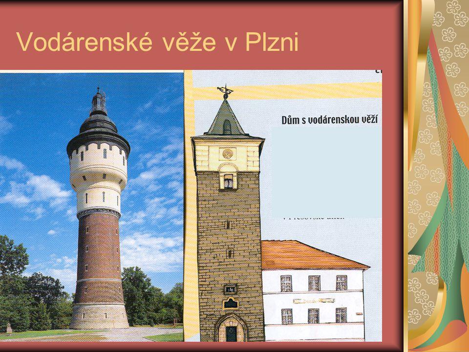 Vodárenské věže v Plzni