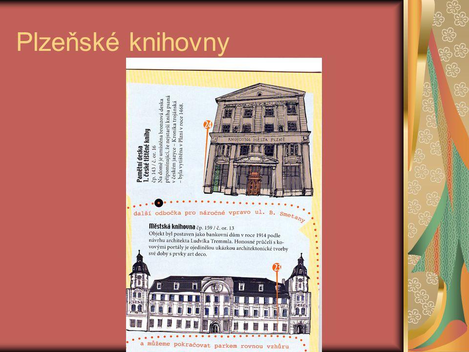 Plzeňské knihovny