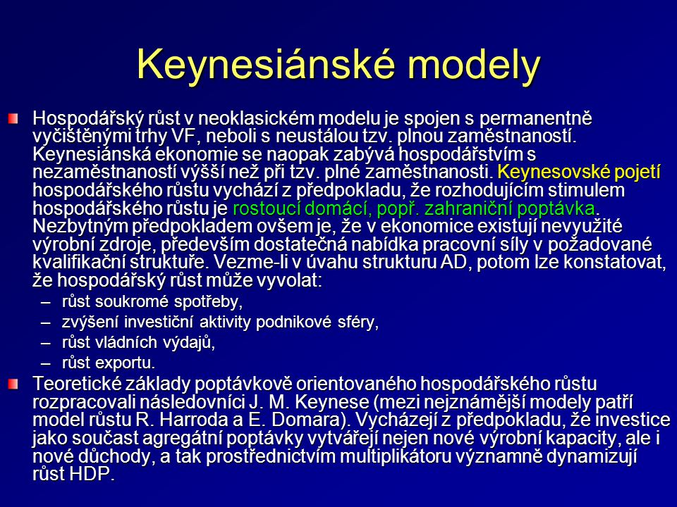 Keynesiánské modely