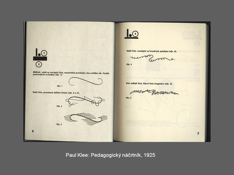 Paul Klee: Pedagogický náčrtník, 1925