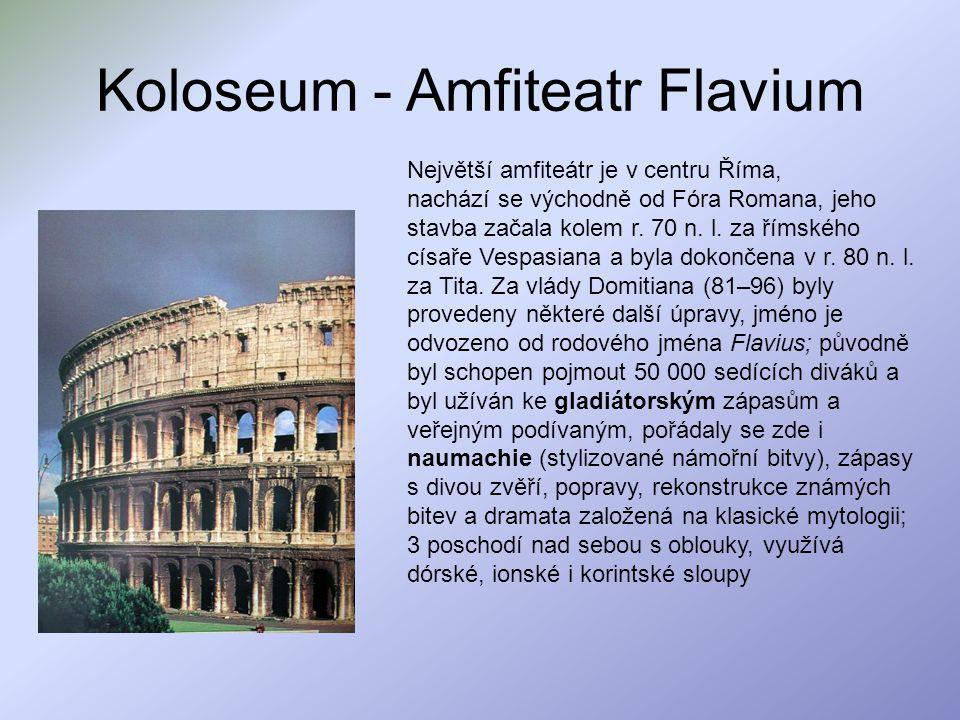 Koloseum - Amfiteatr Flavium