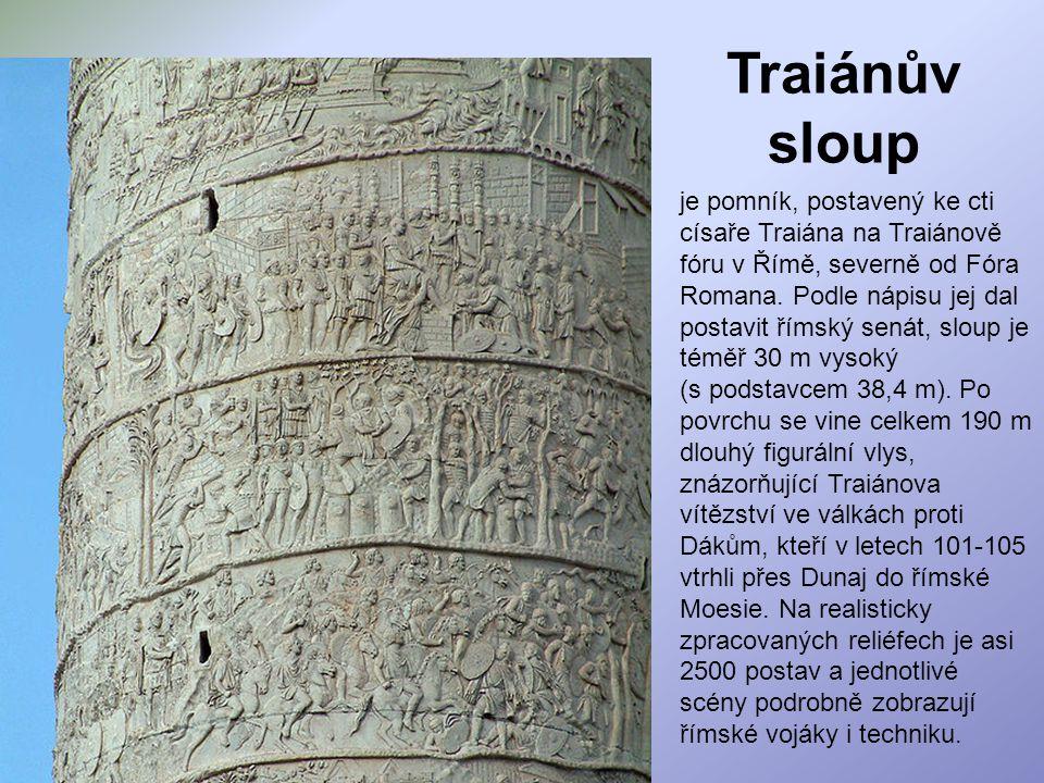 Traiánův sloup