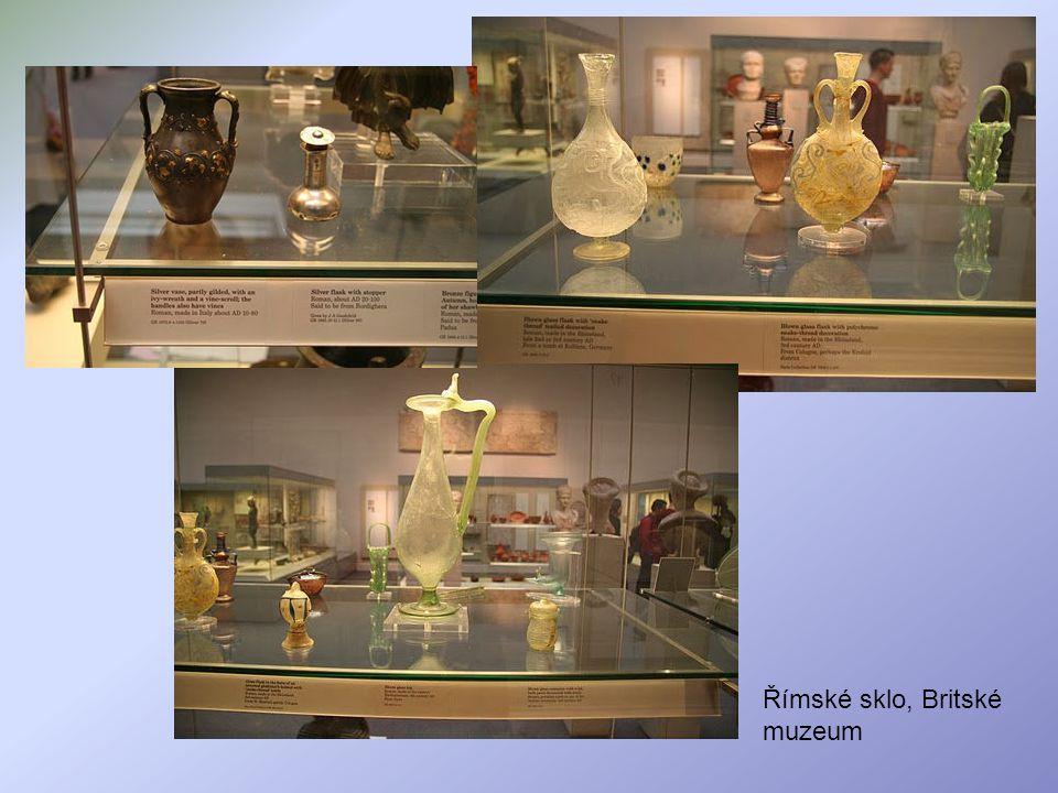 Římské sklo, Britské muzeum