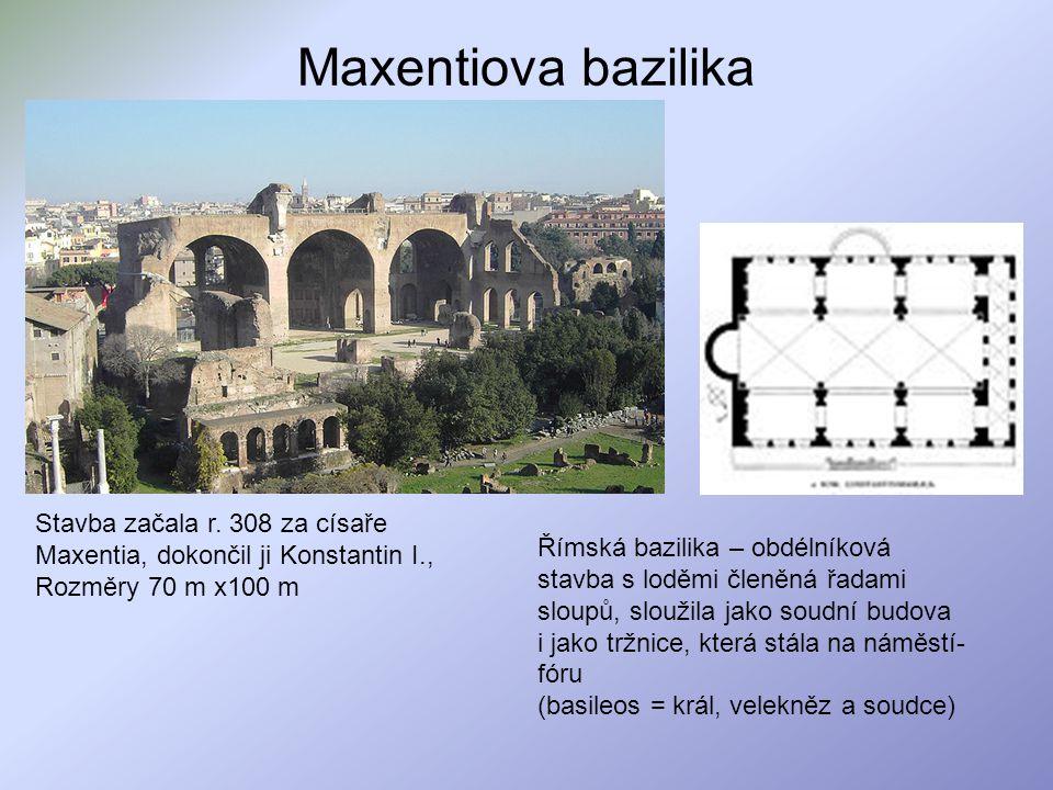 Maxentiova bazilika