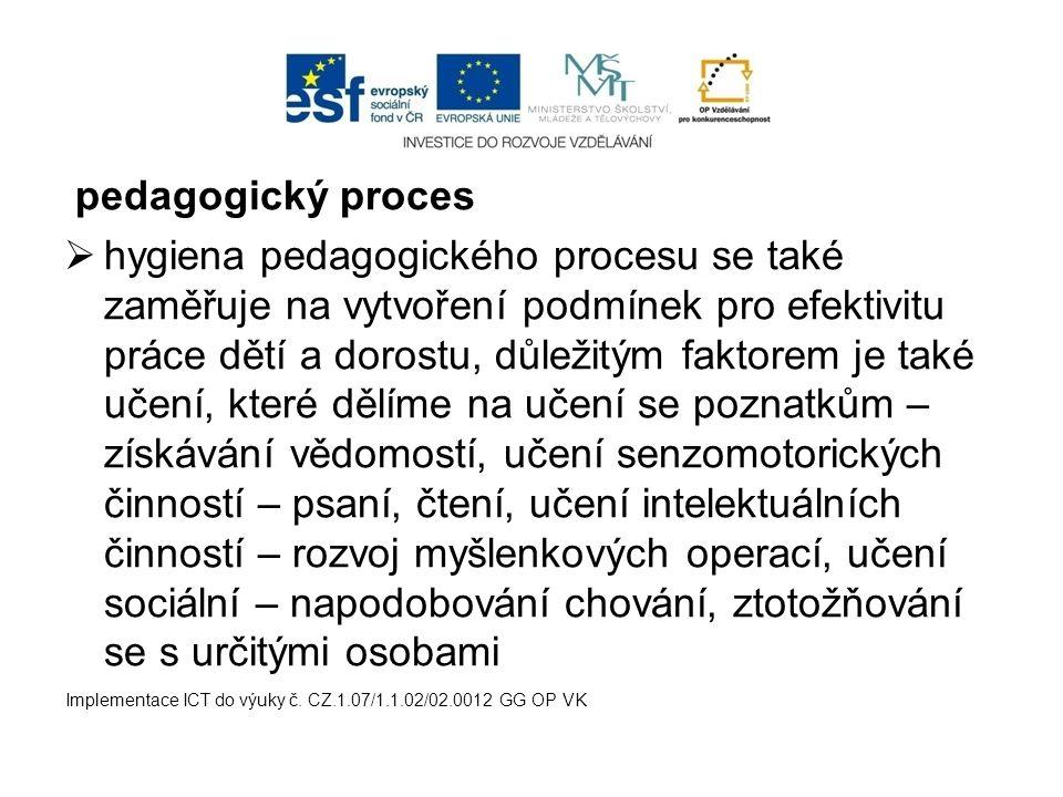 pedagogický proces