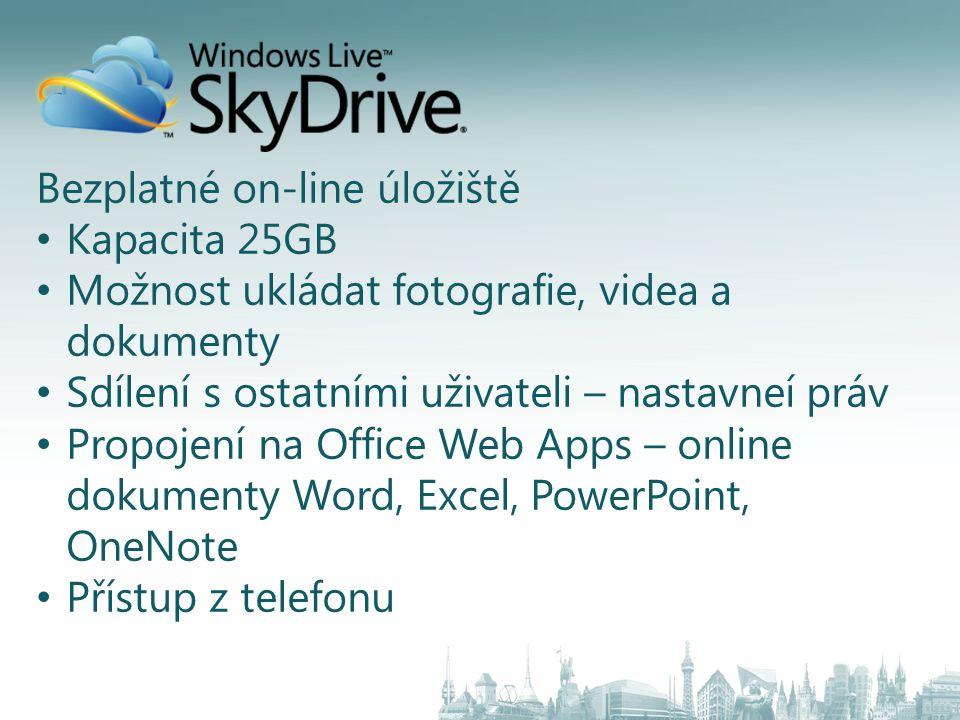 Bezplatné on-line úložiště