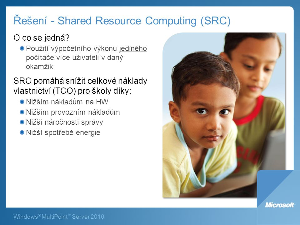Řešení - Shared Resource Computing (SRC)