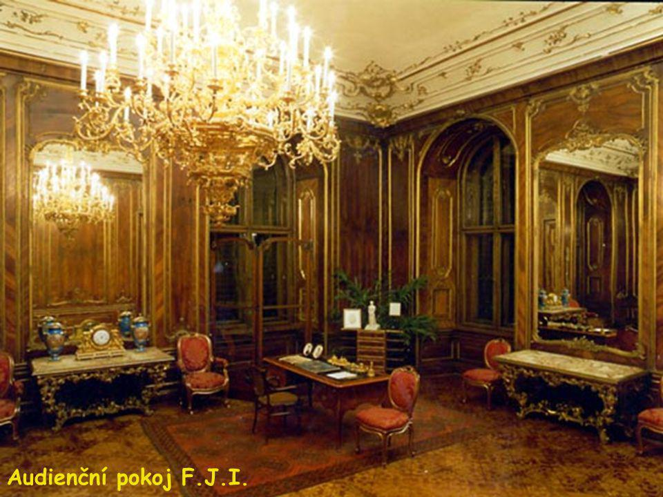 Audienční pokoj F.J.I.