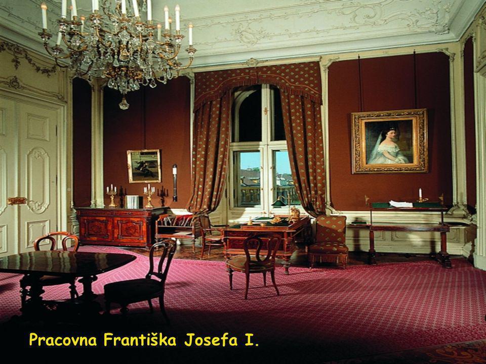 Pracovna Františka Josefa I.