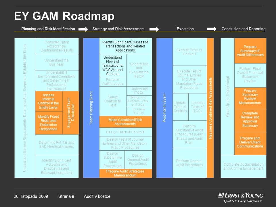 EY GAM Roadmap Planning and Risk Identification