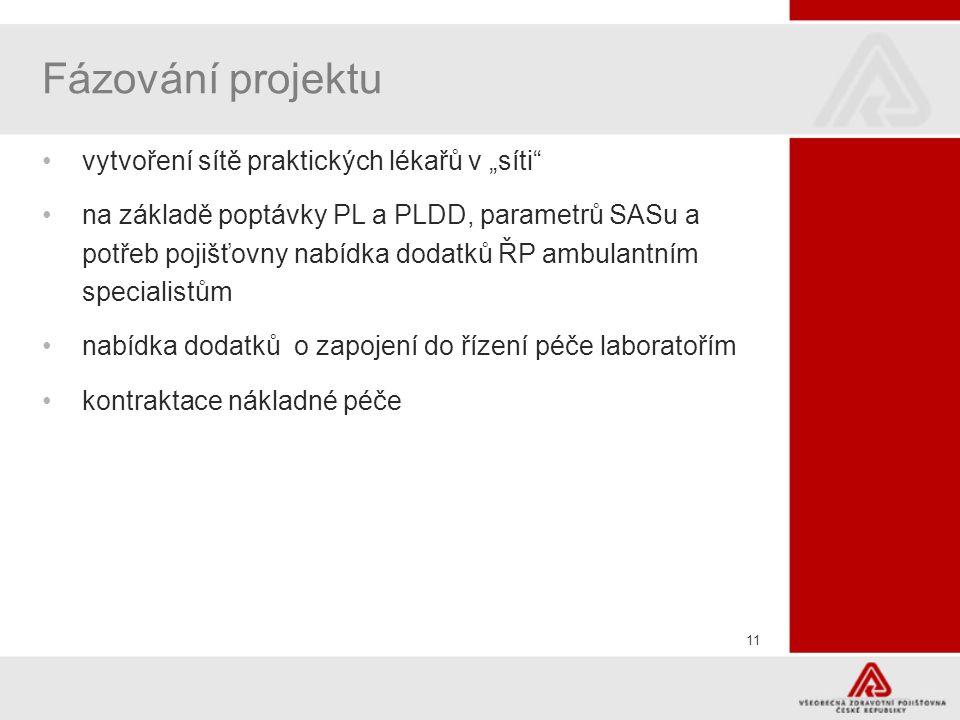 """Fázování projektu vytvoření sítě praktických lékařů v """"síti"""