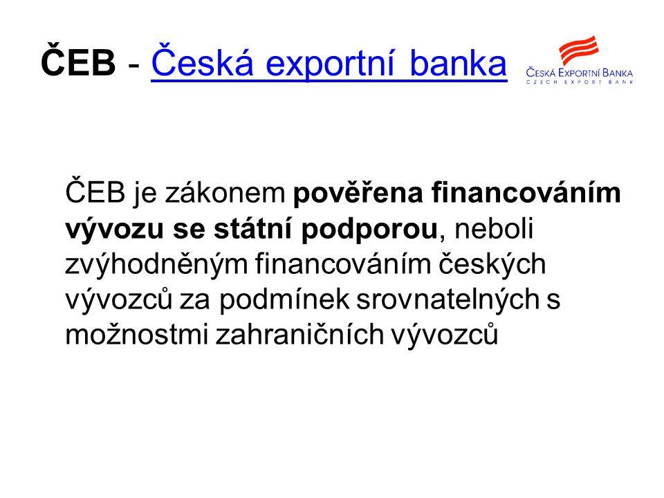 ČEB - Česká exportní banka