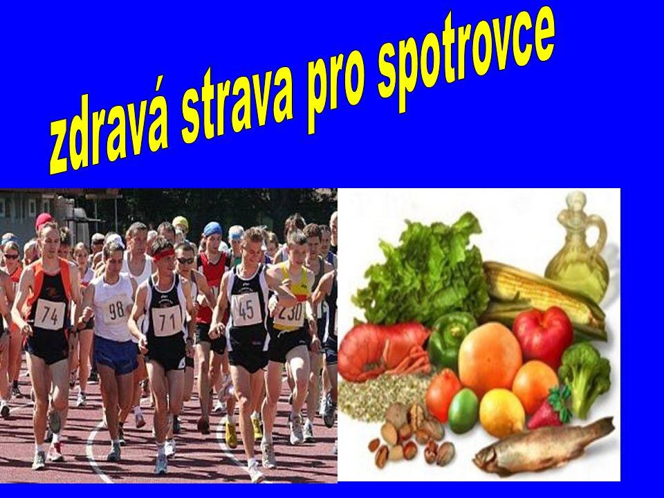 zdravá strava pro spotrovce