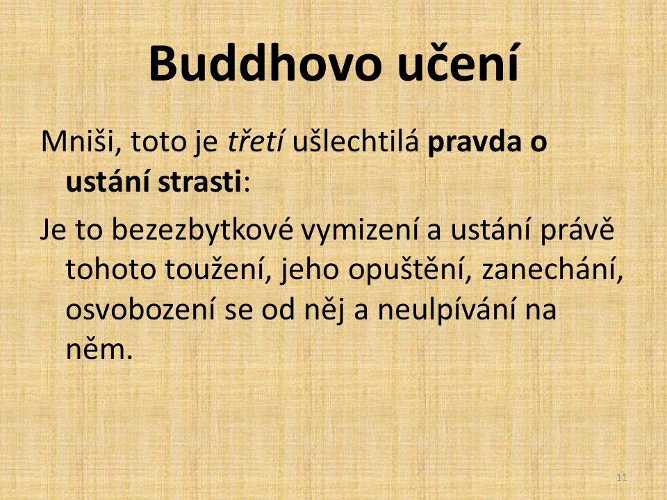 Buddhovo učení