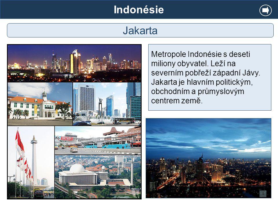 Indonésie Jakarta.