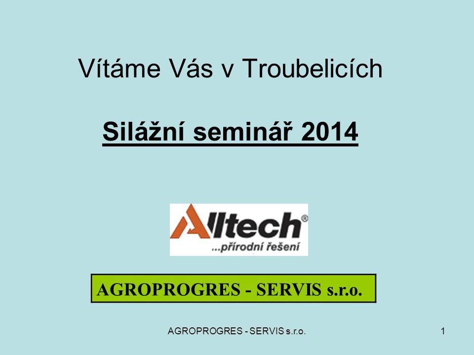Vítáme Vás v Troubelicích Silážní seminář 2014