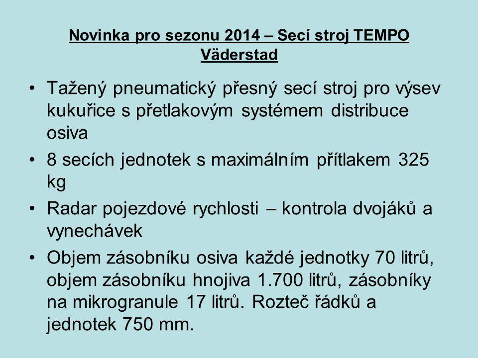 Novinka pro sezonu 2014 – Secí stroj TEMPO Väderstad