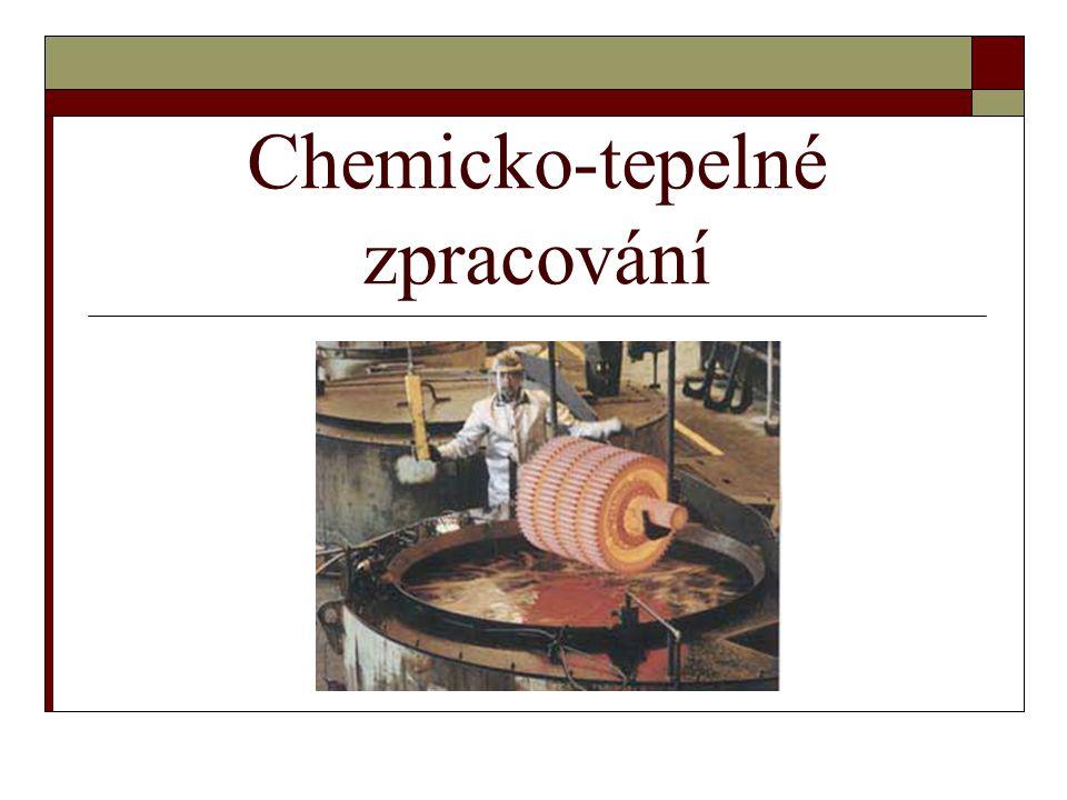 Chemicko-tepelné zpracování