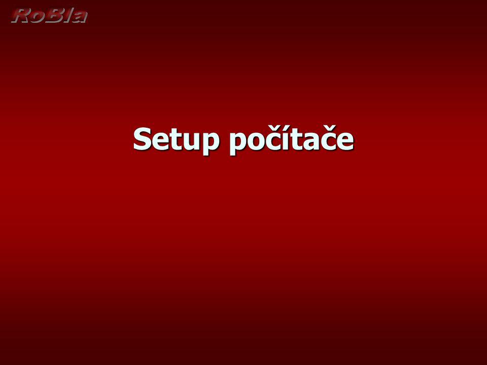 RoBla Setup počítače
