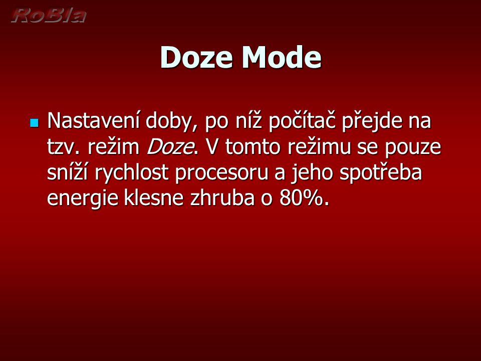 Doze Mode