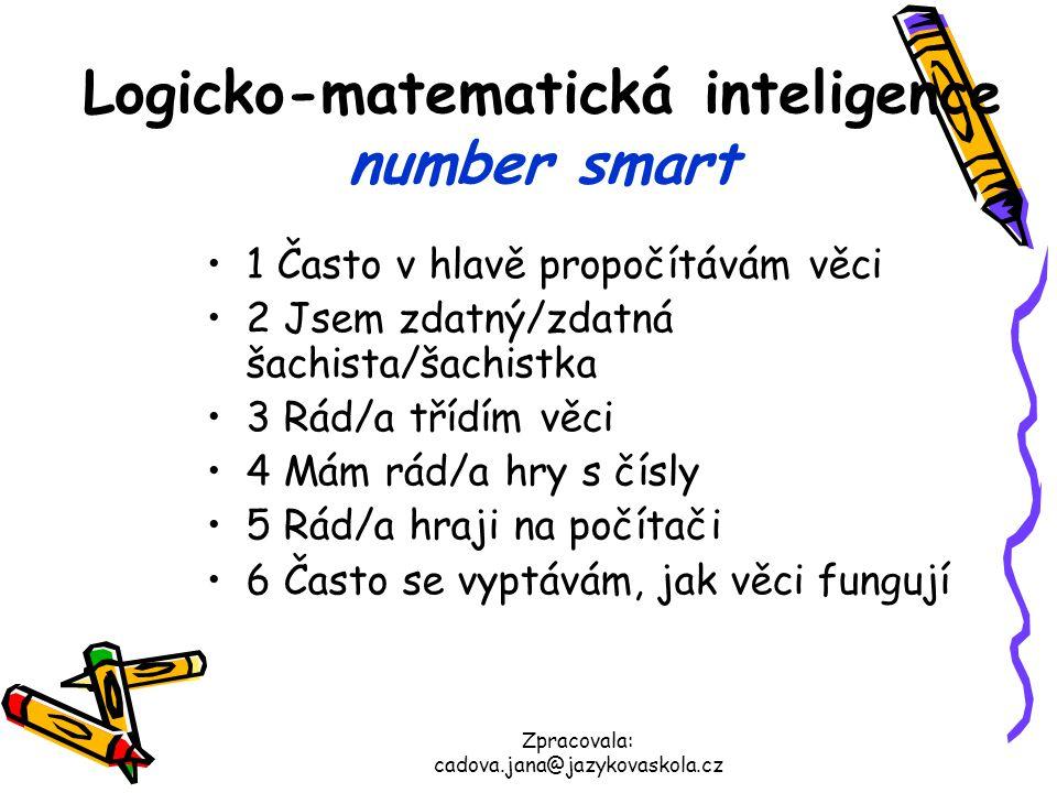 Logicko-matematická inteligence number smart