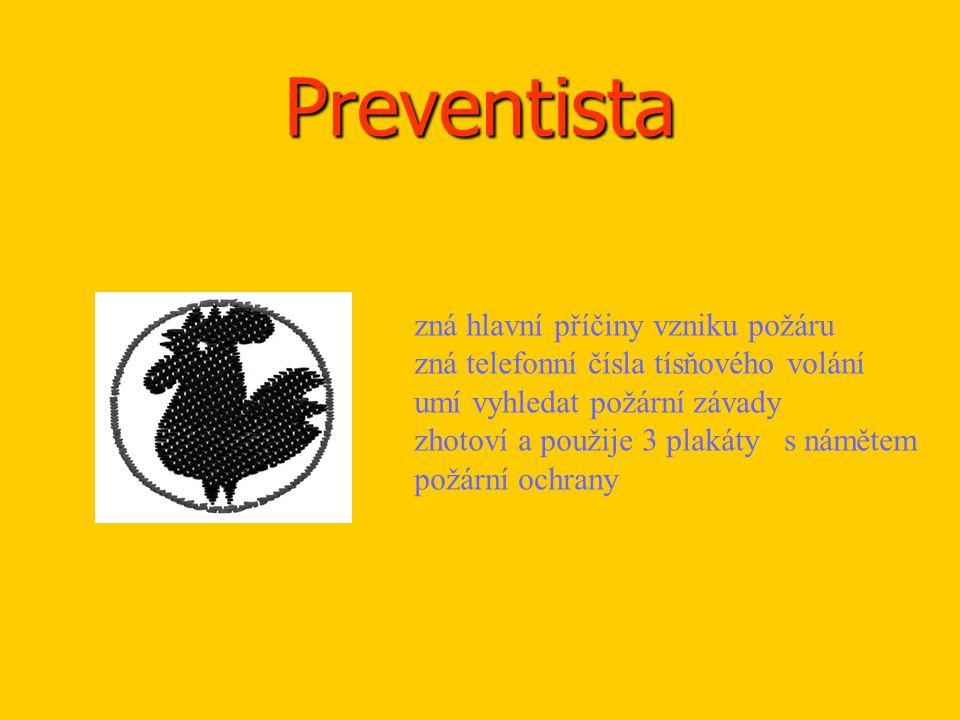 Preventista zná hlavní příčiny vzniku požáru