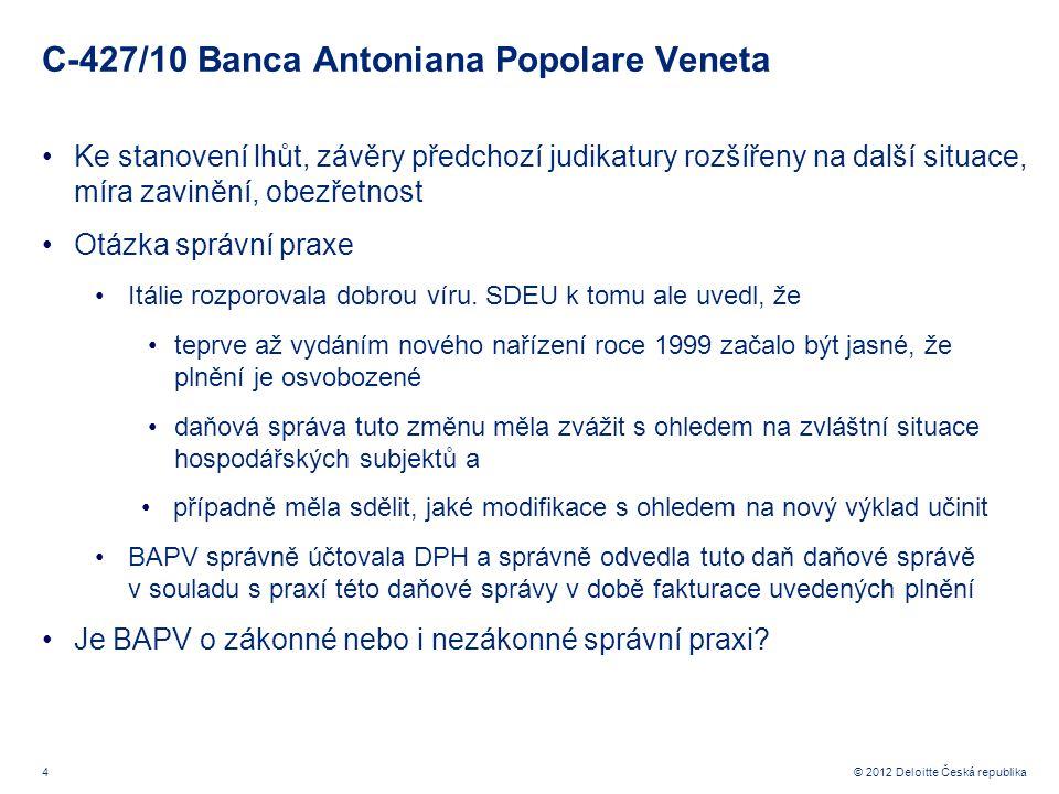 C-427/10 Banca Antoniana Popolare Veneta