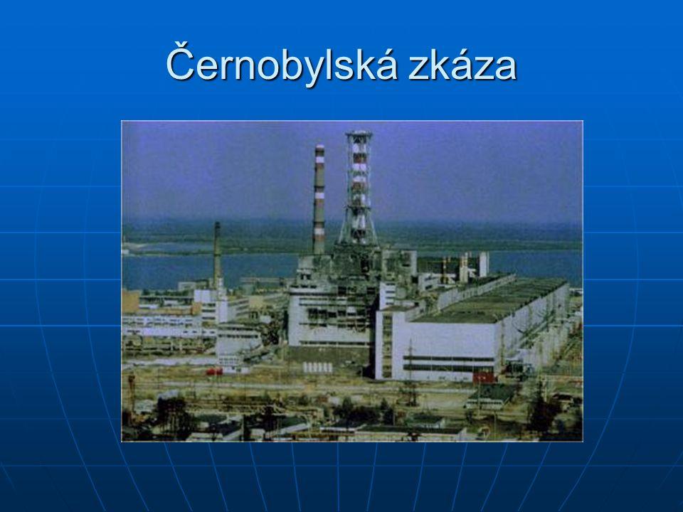 Černobylská zkáza