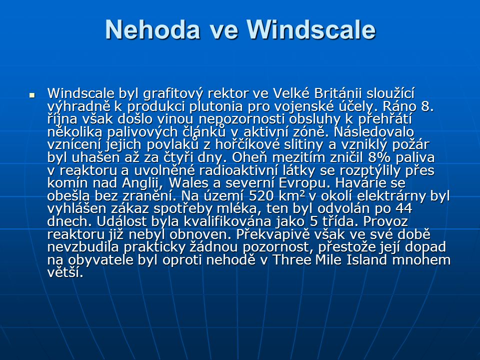 Nehoda ve Windscale