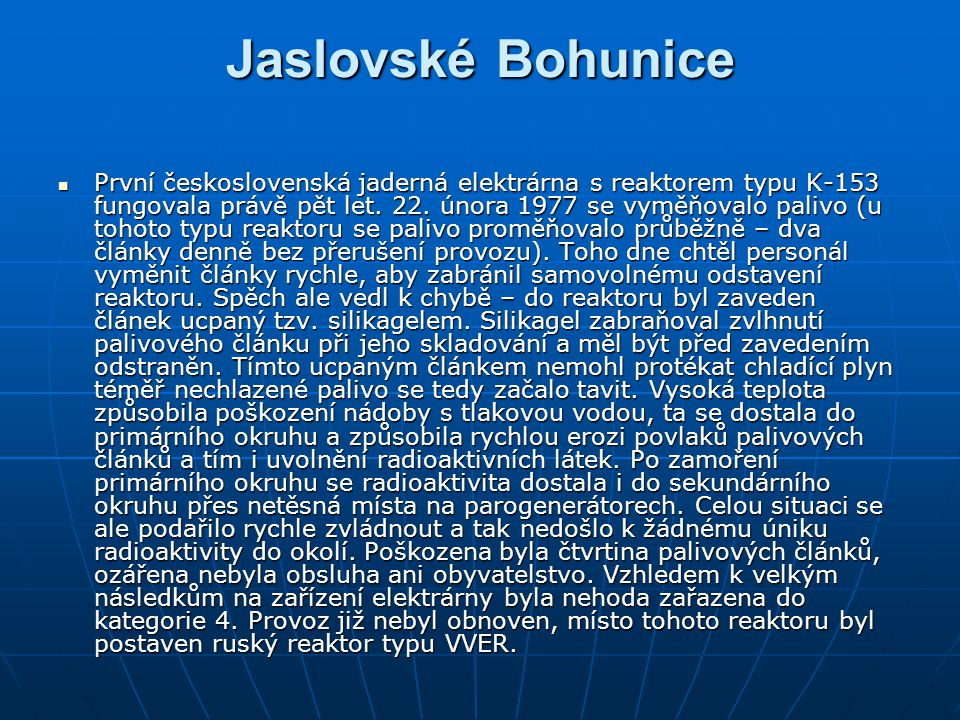 Jaslovské Bohunice