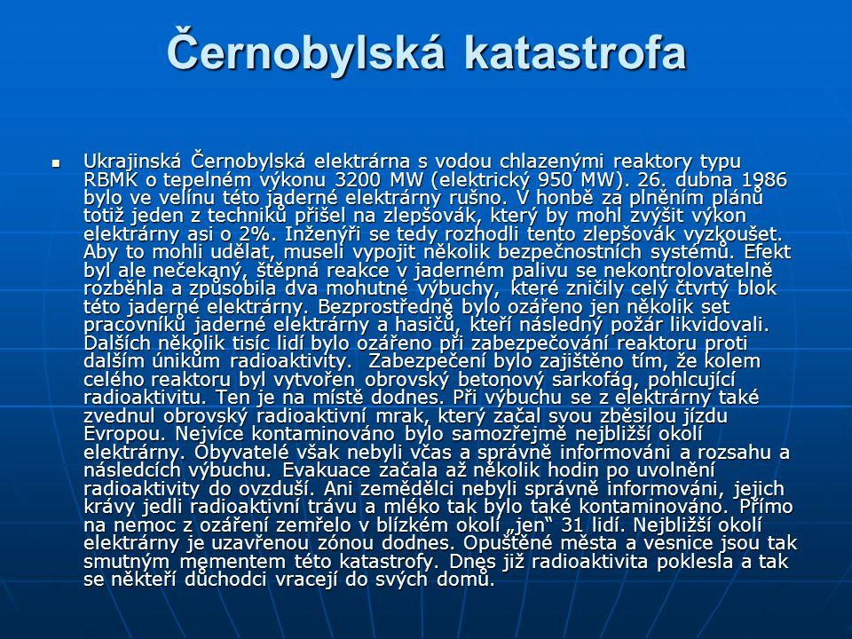 Černobylská katastrofa