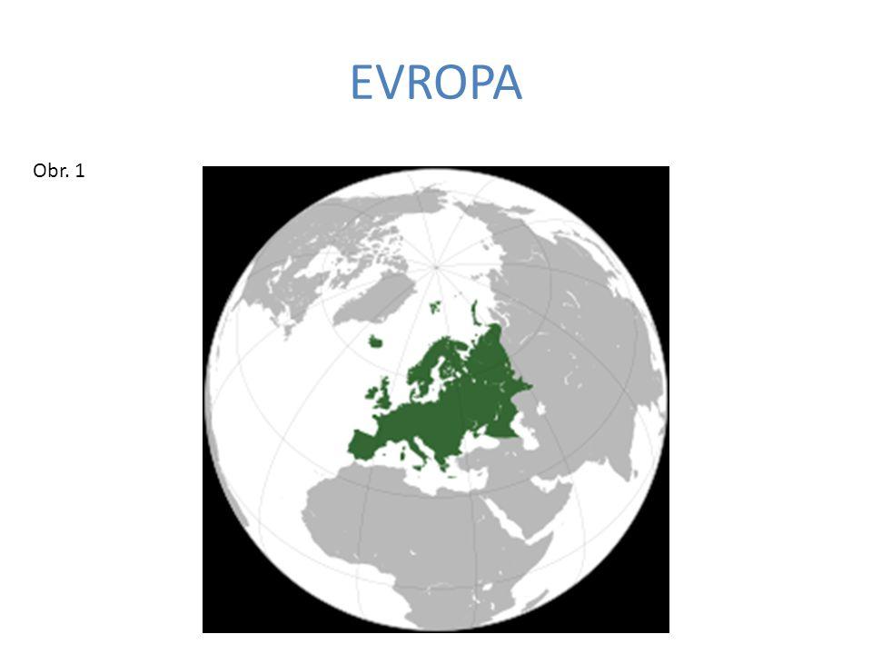 EVROPA Obr. 1