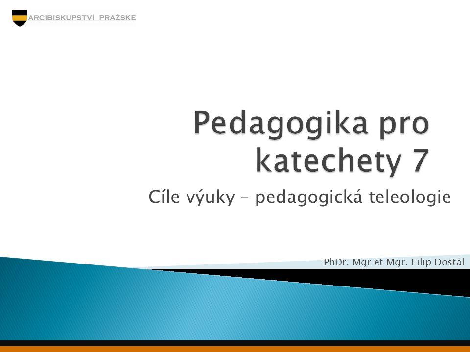 Pedagogika pro katechety 7