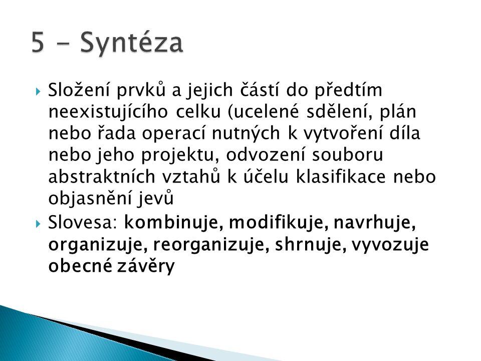 5 - Syntéza