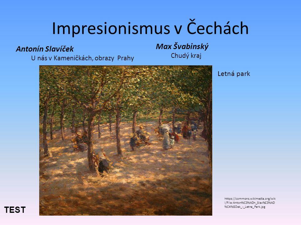 Impresionismus v Čechách